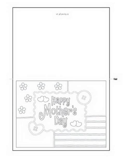 happy s day light up card template easy printable mothers day cards ideas for family