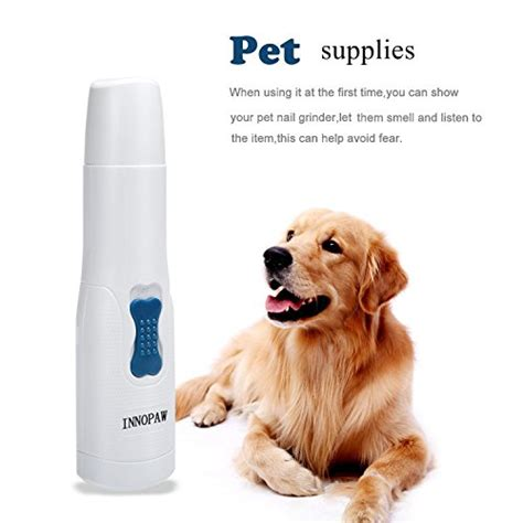 Electric Pets nail grinder electric pet nail grinders trimmers gentle import it all