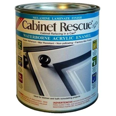 acrylic enamel paint for cabinets cabinet rescue 31 oz melamine laminate finish paint dt43
