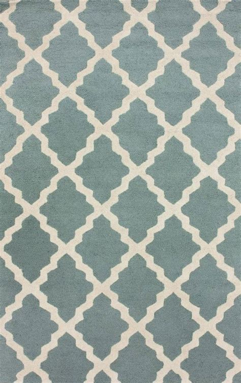 moroccan trellis rug blue moroccan trellis rug in spa blue rosenberryrooms