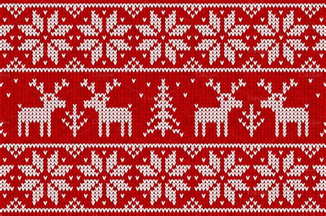 pattern ugly christmas sweater christmas sweater pattern clipart 23