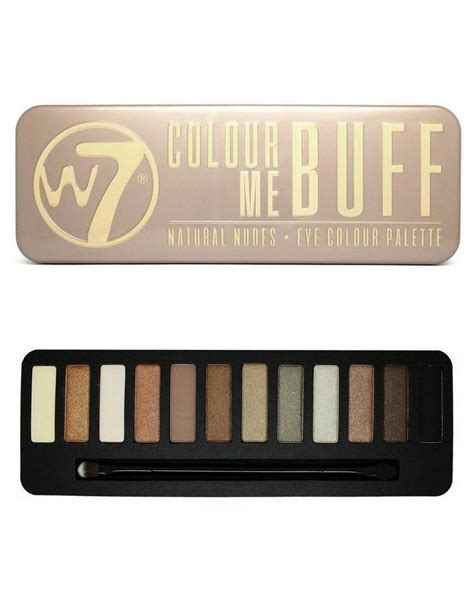 Make Up City Colour w7 make up in the buff palette make up musthaves make