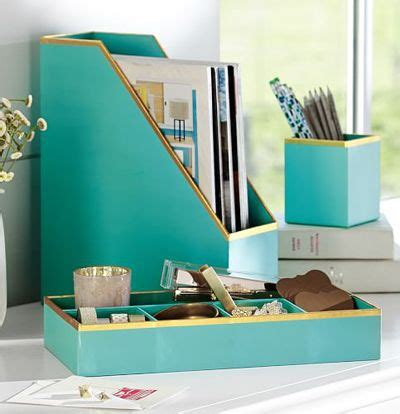 615 Best Images About Home On Pinterest Chairs Desk Turquoise Desk Accessories