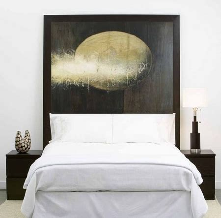 headboard art art as headboard home design