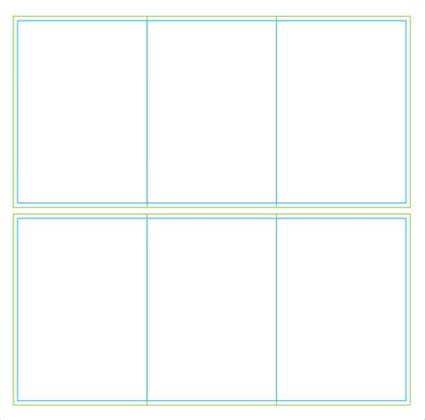 Template For Table Tent Cards