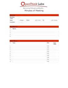doc 598540 free meeting minutes template bizdoska com
