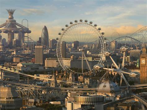 hd theme park wallpaper futuristic theme park city hd wallpapers