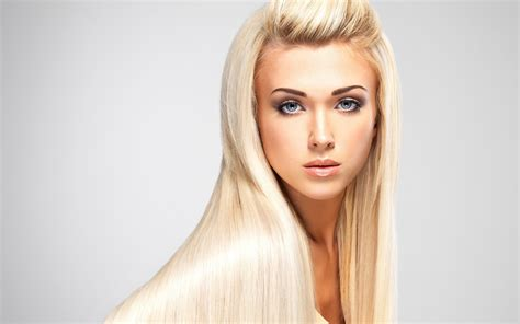 blonde hairstyles with makeup fashion blonde girl long hair makeup wallpaper girls