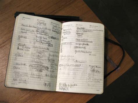 Medium Schedule Notebook rabbit s notebook moleskine notebooks and diaries