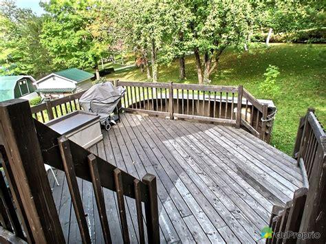 ensemble patio a vendre chalet 224 vendre st ferdinand 6143 12e rue immobilier