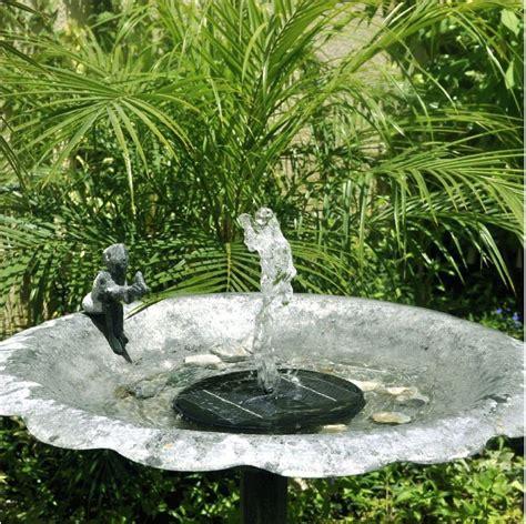 backyard pond fountains solar powered garden fountain pond pool water pump kit