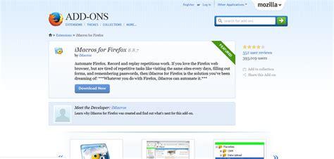 imacros mozilla tutorial imacros social bots