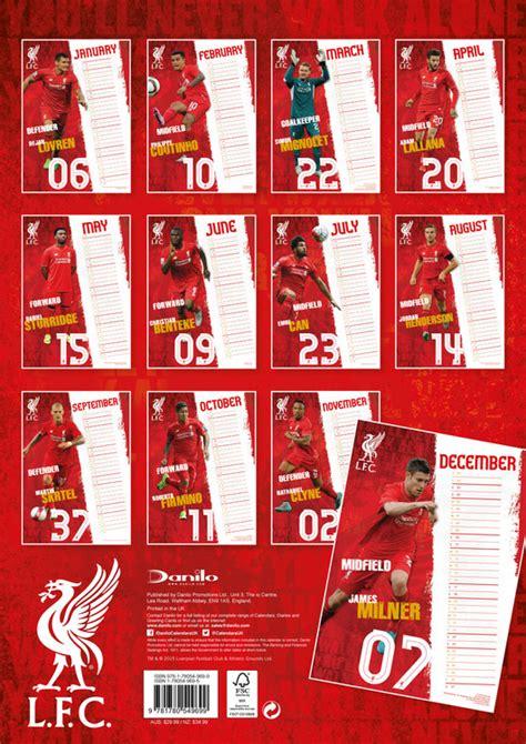 Calendario Liverpool Calend 225 2018 Liverpool Fc Em Europosters Pt