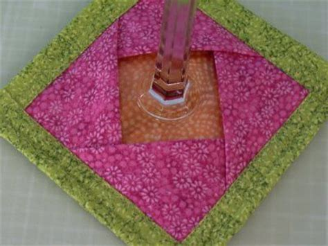 pattern for fabric wine coasters different variation of wine glass coaster sewing