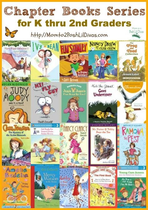 a second books k thru 2nd grade chapter book series our 20 favorites