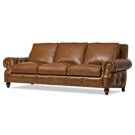hancock and leather sofa hancock and 5342 nc lacross sofa discount furniture