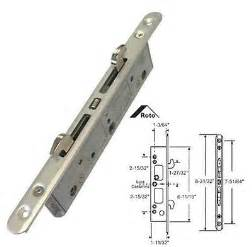 Sliding Glass Door Mortise Lock Patio Sliding Gliding Door 2 Point Mortise Lock Brass 11 Inch Holes