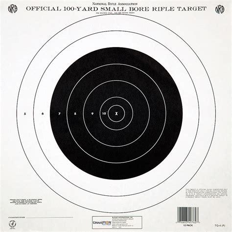 printable precision targets 81 rifle targets 100 yards printable rifles