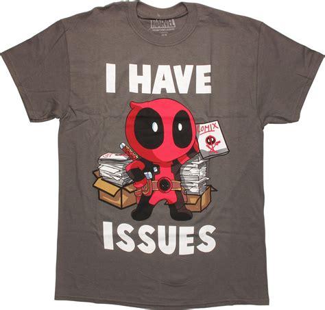 Deadpool 3 T Shirt deadpool i issues t shirt