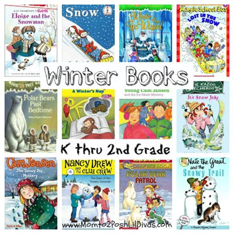 the second winter books kindergarten beginning readers