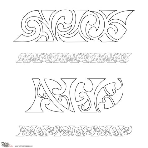 tribes lettere of maorigram sfo letters custom