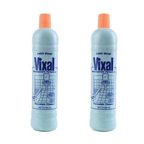 Vixal Pembersih Toilet Jual Vixal Pembersih Porselen Lebih Wangi 2x 800 Ml