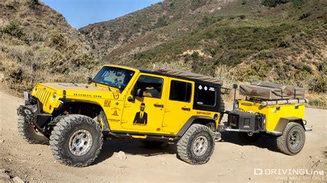 jeep offroad trailer survive thrive road trailer build drivingline