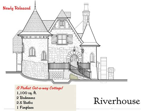 storybook cottage house plans storybook building