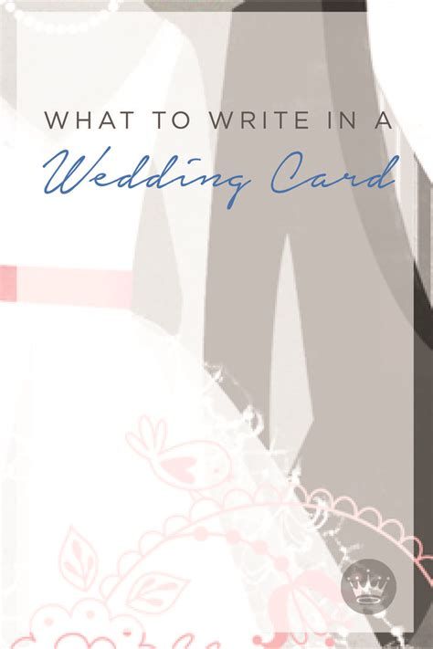What To Write In Wedding Card For