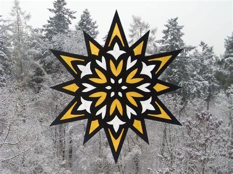 Fensterdekoration Weihnachten Sterne by Fensterbilder Quot Sterne Quot Bastelvorlagen Mit Anleitung