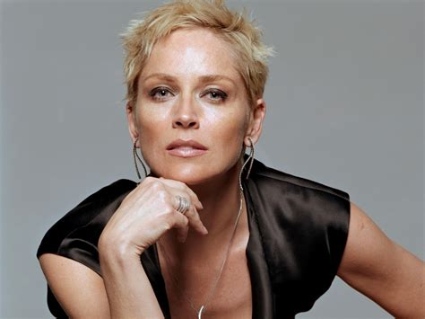 Hairstyles For Women 57 Years Of Age | sharon stone famous face