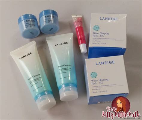 Laneige Water Sleeping Pack product review laneige water sleeping pack ex dear