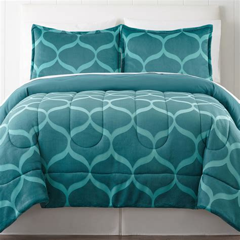 plush bedding comforters cheap home expressions carved plush comforter set offer