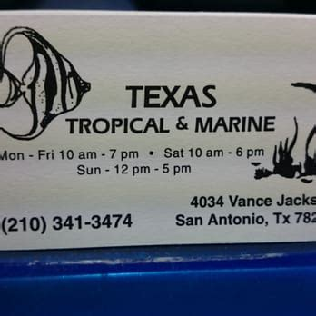 business cards in san antonio tx tropical marine 16 reviews pet shops san