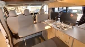 Overhead Bed Storage Vauxhall Vivaro Day Van Conversion Smartworld Campervan