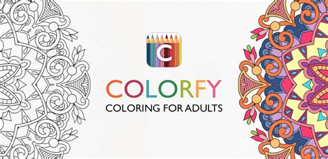 coloring book for adults app colorfy coloring book for adults best free app