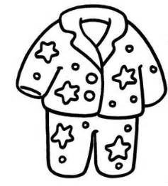 Pijama Free Coloring Pages  sketch template