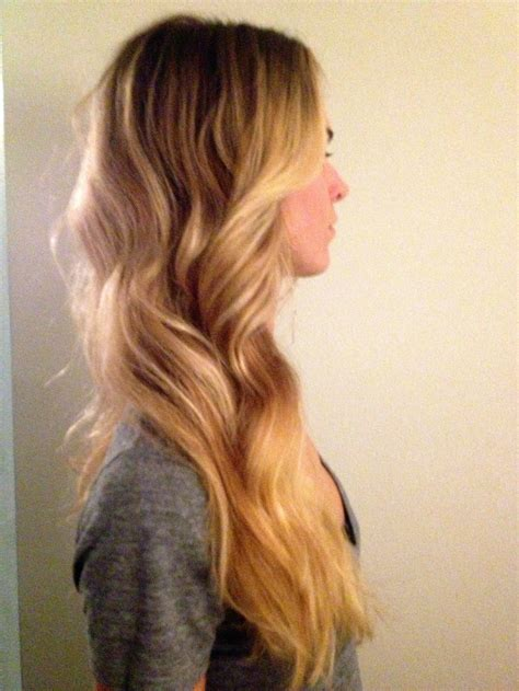 balayage ombre highlights long beach hair with golden blonde balayage highlights