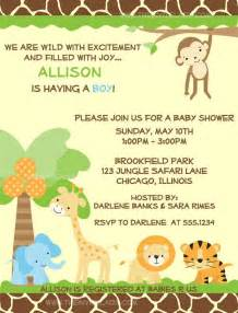 safari theme baby shower invitations theruntime