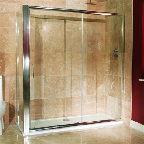 Shower Door 900 Reversible 6mm 1600 X 900 Sliding Door Shower Enclosure