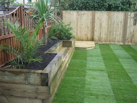 15 Best Ideas About Railway Sleepers Garden On Pinterest Garden Sleeper Ideas