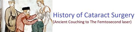 Couching Cataract by A Brief History Of Cataract Surgery From Ancient