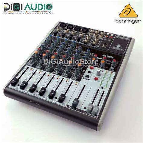 Mixer Audio Toko Bagus jual behringer xenyx 1204usb 1204 usb 12 input with