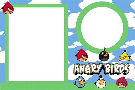 angry birds birthday invitation template free angry birds free printable invitations angry