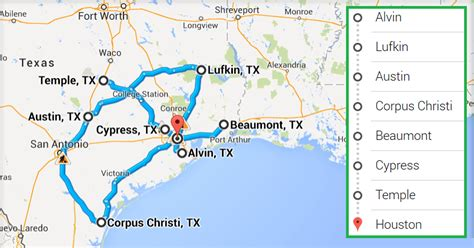 map of texas cities near houston top accredited ultrasound technician schools in houston tx