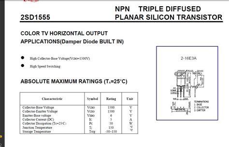 transistor horizontal d1651 transistor horizontal d1555 28 images ingin berbagi ilmu dan pengalaman sirkit horizontal tv