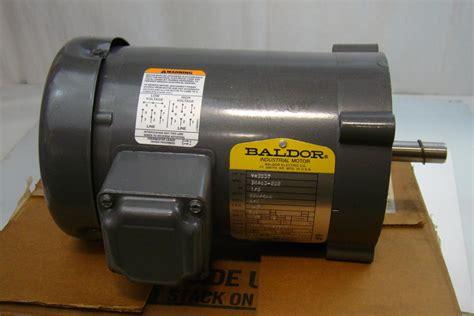 Electric Motor Baldor by Baldor Electric Co Industrial Electric Motor 230 460v 2