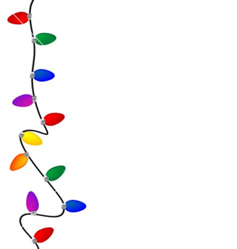 xmas lights clipart