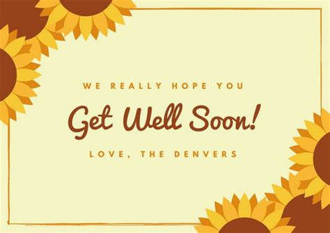 get well soon card template get well soon card templates by canva
