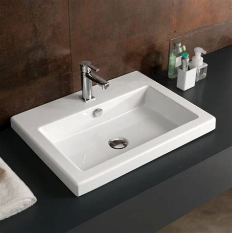 Beautiful Ceramic Bathroom Sinks By Tecla Contemporary Bathroom Sinks